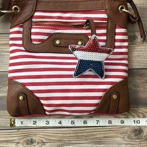 🇺🇸 Patriotic Small Zipper Purse Brand New